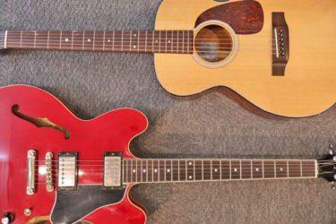 ギターの仕組みとパーツ