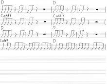 ソラニンBメロ楽譜